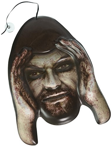 Forum Novelties Lurking Peeping Thug Robber Zombie Halloween Window Prop Poster Decoration