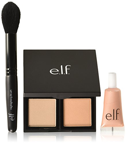 e.l.f. Get Glowing Highlighting Set, Shimmer, 0.86 Ounce