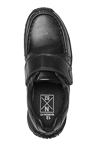 next Niños Júnior Zapatos Deportivos Estrechos Cierre (Niño Mayor) Negro