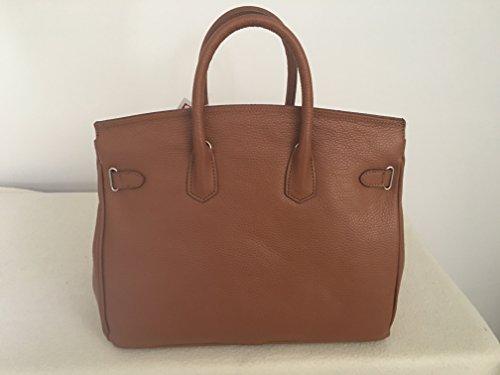 Carbotti - Sac à mains cuir de luxe femme - bellezza
