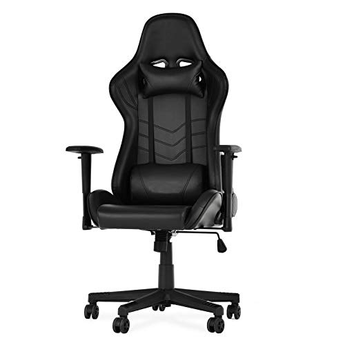 Selva Gaming Chair with Speakers and Powerful Subwoofer   Build in 2.1 Bluetooth Audio Volume Bass Control   Ergonomic Heavy Duty for Playing Video Games Listening Music Watching TV Reading Relaxing Selva