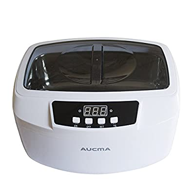 Aucma 160W Professional Heated Ultrasonic Cleaner