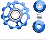 11T Jockey Wheel Rear Derailleur Pulley,Bike Rear Derailleur Pulley for Mountain Bike Bicycle Replacement Part