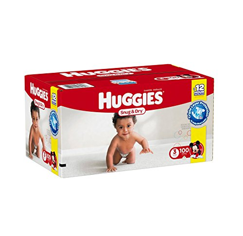 Huggies Snug Dry Diapers Size