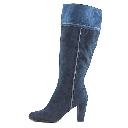 Navy Rialto Boot Suede Cordelia High Knee AUZ64I