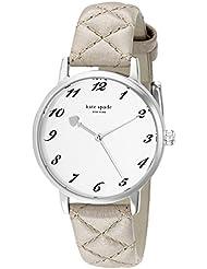 kate spade new york Womens 1YRU0784 Metro Stainless Steel Watch