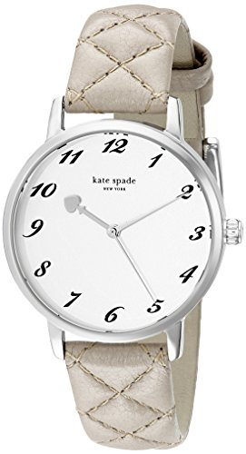 kate spade new york Women's 1YRU0784 Metro Stainless Steel Watch