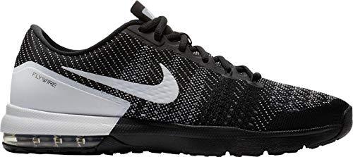 NIKE Men's Air Max Typha Training Shoes (11.5, Black/White/White-M) -