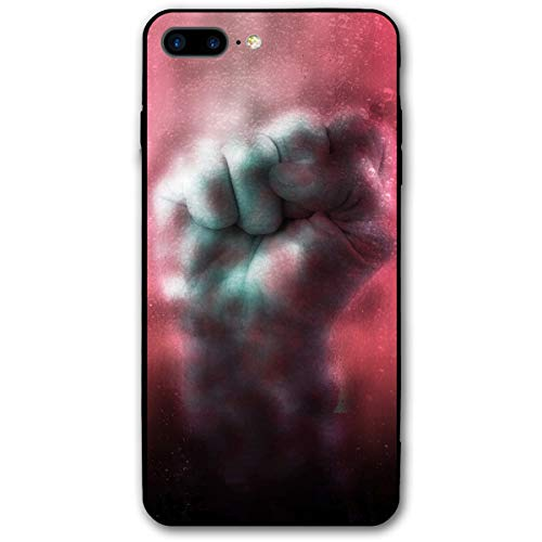 Cool Halloween Fist in Blood Sea Bubble iPhone 8 Plus Case, iPhone 7 Plus Case, Ultra Thin Lightweight Cover Shell, Anti Scratch Durable, Shock Absorb Bumper Environmental Protection Case Cover