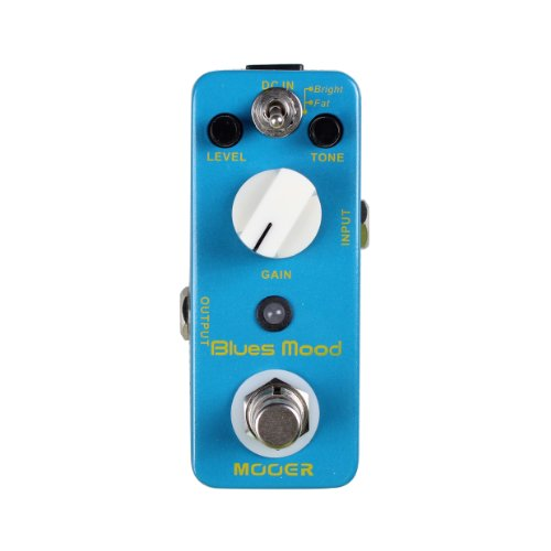 Mooer MBD2 Blues Mood Overdrive Guitar Distortion Effects Pedal