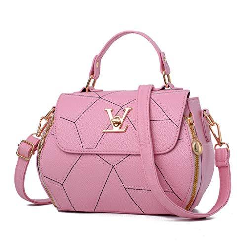Messenger Forme Sac Tendance Couleur Pink Sac De 21 Main À en 9cm Couleurs Femmes Bag 18 Bandoulière 8 Petit Sac V Carré Simple À des qO7qnYa