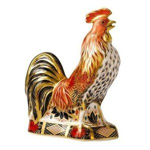 Royal Crown Derby Imari - Royal Crown Derby Imari Cockerel