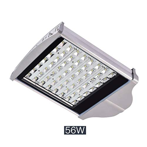 (LED Flood Light,Security Lights Outdoor Waterproof Road Light Residential Courtyard Rural Road (Color : 56W-white light))
