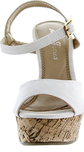 Mode Focus Femmes Ardo-3 Sandales Compensées Beige