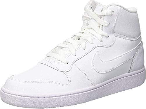Zapatos NIKE Ebernon Mid AQ1773 002 BlackWhite Sneakers