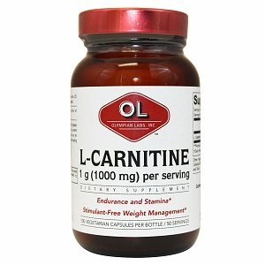 Olympian Labs L-Carnitine Fumarate, Super Size 100 capsules