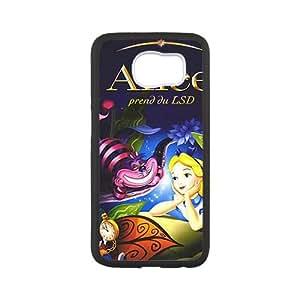 Custom Alice in Wonderland Rosa Cheshire cat Phone Case for Samsung Galaxy S6