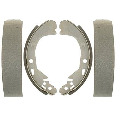 ACDelco 14720B Advantage Bonded Rear Brake Shoe Set: Automotive