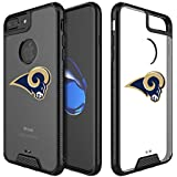 """Clear Case Compatible with iPhone 6s Plus/6 Plus/7 Plus/8 Plus 5.5"""" Military Grade Drop Protective Cover Premium Hybrid Rugged Bumper Transparent Back Shell Phone Photo Frame for 6s 7 8 Plus"""