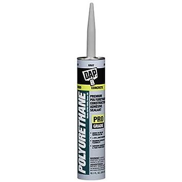 Dap 18814 Polyurethane Premium Concrete and Masonry Sealant, Gray, 10.1-Ounce