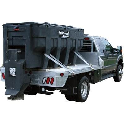 SaltDogg Electric Poly Hopper Spreader - 3.0 Cu. Yd. Capacity, Fits 6.5-Ton Trucks, Model# SHPE3000