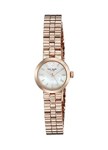 kate spade new york Women's 1YRU0799 Tiny Gramercy Analog Display Japanese Quartz Rose Gold Watch
