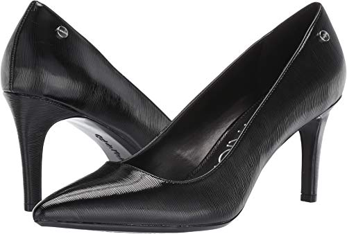 Calvin Klein Women's Nilly Black Patent Smooth 8.5 M US ()