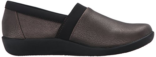 Clarks Vrouwen Cloudsteppers Sillian Blair Slip-on Loafer Brons Synthetisch Nubuck