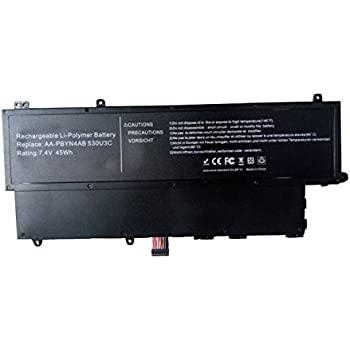 Batterymarket® New Laptop Battery For SAMSUNG Ultrabook NP530U3C NP-530u3C NP530U3C 530U3C-A02 AA-PBYN4AB AA-PLWN4AB [Li-Polymer 45Wh/7.4V]