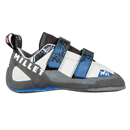 Millet–Zapatillas de escalada Wall Street Grey/Blue hombre–hombre–azul azul