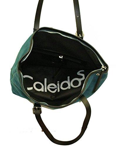 Caleidos , Damen Schultertasche grün VERDE PETROLIO