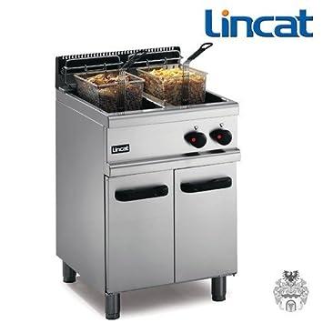 Lincat FriFri de gas fritura 2 x 14 l 32 kW Stand de freidora: Amazon.es: Hogar