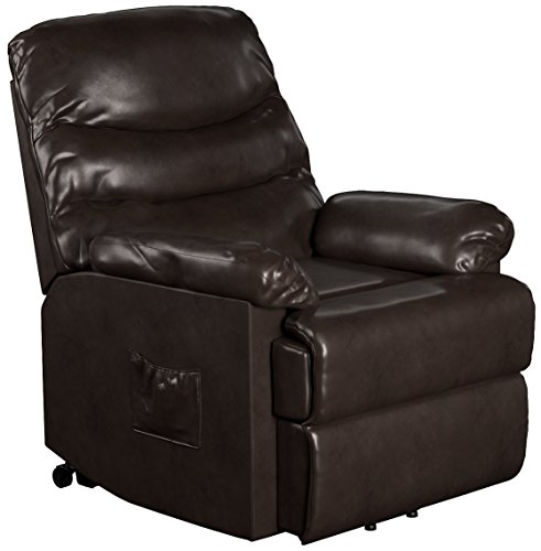 ProLounger Leather Power Lift and Reclining Living Room Chai