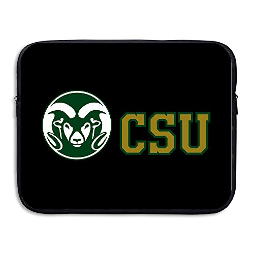 [CYANY Colorado State University CSU Rams Shock-Resistant Notebook Protective Case Bag Size 15 Inch] (Elizabeth Bass Costume Designer)
