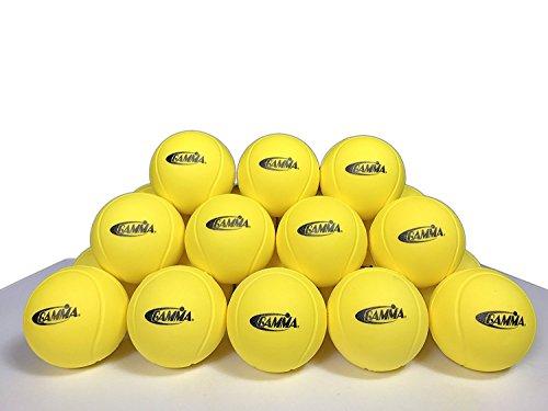 Gamma 60 Pack Foam Balls - Gamma Foam Tennis Ball