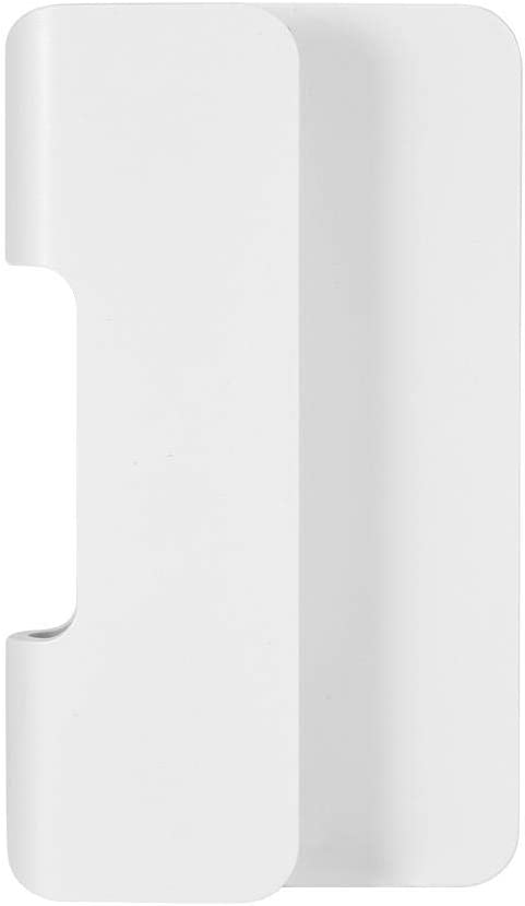 Blanco Lazmin Soporte de Carga de tel/éfono montado en la Pared para Todos los tel/éfonos m/óviles y tabletas Construido con Puerto de Carga en la Parte Inferior Soporte de Carga con Tiras Adhesivas
