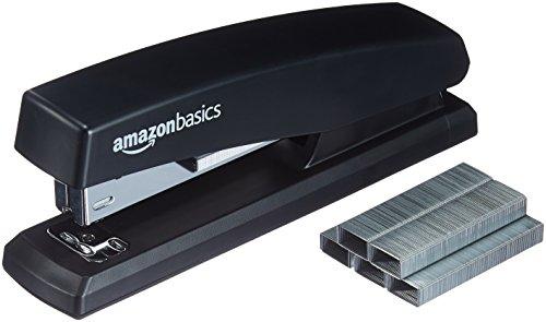 AmazonBasics Stapler with 1000 Staples - Black, 3-Pack Photo #4