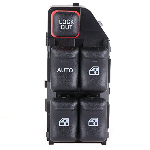 Window Switch Power Window Switch Master Control Power Window Switch Front Driver Side Replacement Parts fits for 2004-2005 Chevrolet Classic 1997-2003 Chevrolet Malibu 1997-1999 Oldsmobile Cutlass