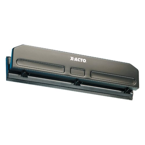 X-ACTO Economy Three hole punch fixed commercial (Elmers Paper Punch)