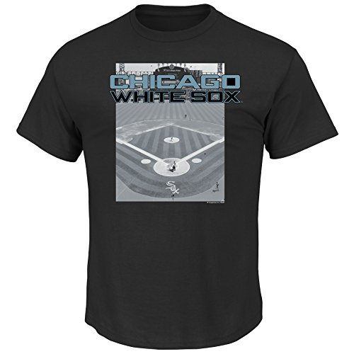 VF LSG MLB Chicago White Sox Men's A Whole New Game Tee, Small, (White Sox Batting Practice Jersey)