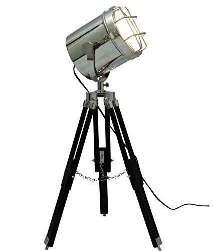 Brass Nautical Retro Lamp Floor Spotlight Tripod Nautical Lighting Nautical Tripod Lamp India Buy Cheap