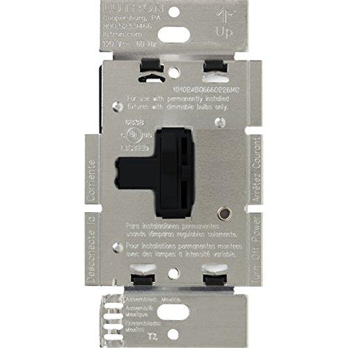 (Lutron AY-603P-BL Ariadni 600-watt  3-Way Dimmer, Black)