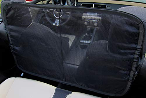 Windscreen Wind Deflector for Convertible Cars - Stop Crazy Hair and Enjoy The Drive.