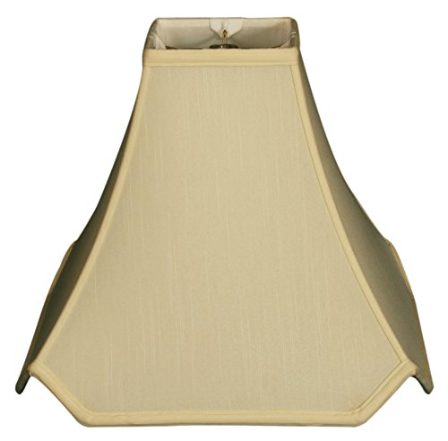 - Royal Designs Pagoda Basic Lamp Shade, Eggshell, 5 x 14 x 12.25