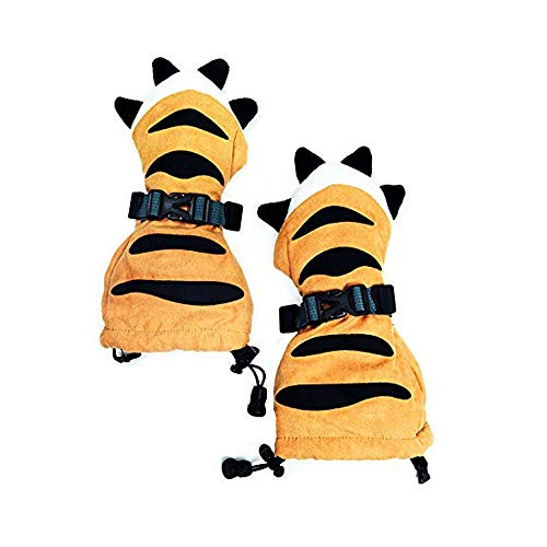(Outtop(TM) Baby Tiger Paw Shaped Winter Mittens - Skiing Winter Warm Gloves Ski Equipment Gloves for Kids Boys Girls)