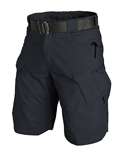 Helikon-Tex UTK Shorts Navy Blue Poly Cotton Ripstop Waist 34 Length 11, Urban Line Urban Tactical Shorts