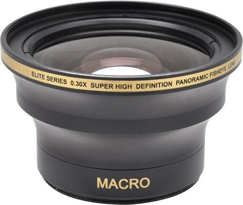 58MM & 52MM 0.30x FishEye Conversion Lens with Macro For ...