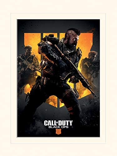 Amazon Com Call Of Duty Black Ops 4 Art Prints Multi Colour 30