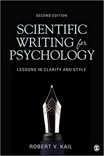 Scientific Writing For Psychology Lessons In