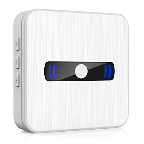Wireless Plug Chime Doorbell extension Waterproof Receiver 1000 feet Range with 55 Chimes -for Arkmiido Video Doorbell Only